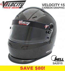 Helmets - Shop All Full Face Helmets - Velocity Carbon Graphic Helmets - SALE $299.99 - SAVE $30
