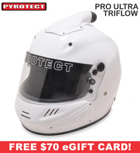 Helmets - Pyrotect Helmets - ON SALE! - Pyrotect Pro Ultra TriFlow Helmet - SALE $539 - SAVE $140