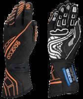 SUMMER SIZZLER SALE! - Sparco - Sparco Lap RG-5 Racing Gloves - Black/Orange - Large / Euro 11