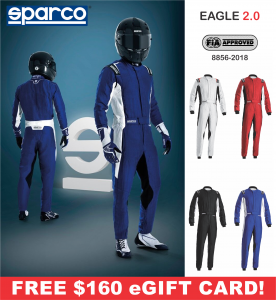 Racing Suits - Sparco Racing Suits - Sparco Eagle 2.0 Suit - $1598.99