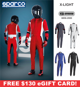 Racing Suits - Sparco Racing Suits - Sparco X-Light Suit - $1398.99
