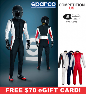 Racing Suits - Sparco Racing Suits - Sparco Competition US Suit - $698.99