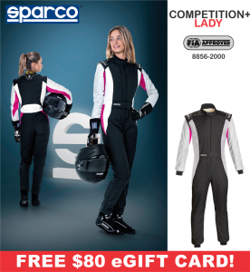 Racing Suits - Sparco Racing Suits - Sparco Competition+ Lady RS-5.1 Suit - $798.99
