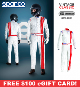 Racing Suits - Sparco Racing Suits - Sparco Vintage Classic Suit - $998.99
