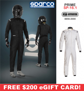 Racing Suits - Sparco Racing Suits - Sparco Prime SP-16.1 Suit - $1998.99
