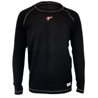 Safety Equipment - Underwear - Velocity Race Gear - Velocity Tech Layer Top - Black - Long Sleeve - Small