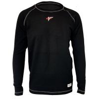 Safety Equipment - Underwear - Velocity Race Gear - Velocity Tech Layer Top - Black - Long Sleeve - Large