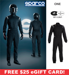 Racing Suits - Sparco Racing Suits - Sparco One RS-1.1 Suit - $248.99