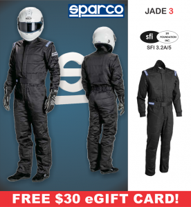 Racing Suits - Sparco Racing Suits - Sparco Jade 3 Suit - $298.99