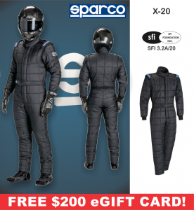 Racing Suits - Sparco Racing Suits - Sparco X-20 Drag Racing Suit - $1994.99