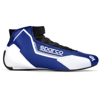 Sparco Racing Shoes - Sparco X-Light Shoe - $298.99 - Sparco - Sparco X-Light Shoe - Blue/White - Size: 5.5 / Euro 37 - Pre-Order