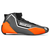 Sparco Racing Shoes - Sparco X-Light Shoe - $298.99 - Sparco - Sparco X-Light Shoe - Grey/Orange - Size: 10 / Euro 43 - Pre-Order