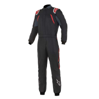 Safety Equipment - Alpinestars - Alpinestars GP Pro Comp FIA Suit - Black/Red - Size 46