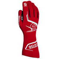 Safety Equipment - Sparco - Sparco Arrow Glove - Red/Black - Size 7