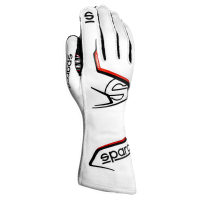 Safety Equipment - Sparco - Sparco Arrow Glove - White/Black - Size 12