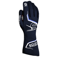 Safety Equipment - Sparco - Sparco Arrow Glove - Blue/White - Size 12