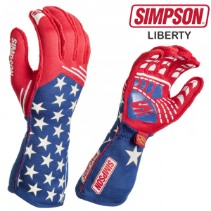 Racing Gloves - Shop All Auto Racing Gloves - Simpson Liberty Gloves - $179.95 - NEW!