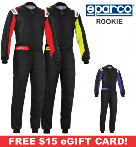 Karting Gear - Karting Suits - Sparco Rookie Karting Suit - $138.99