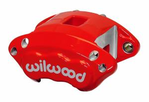 Disc Brake Calipers - Wilwood Brake Calipers - Wilwood D154 Dual Piston Forged Billet Floater Brake Calipers