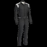 SUMMER SIZZLER SALE! - Sparco - Sparco Conquest 2.0 Boot Cut Suit - Black/White - Large / Euro 56
