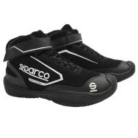 Crew Apparel & Collectibles - Sparco - Sparco Pit Stop Shoe - Black - Size: 12.5