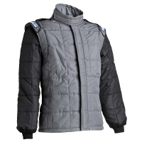 CYBER WEEK SAVINGS! - Sparco - Sparco AIR-15 Drag Racing Jacket (Only) - Black/Gray - Size: 46