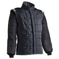 Safety Equipment - Sparco - Sparco AIR-15 Drag Racing Jacket (Only) - Black - Size: XXX-Large - Euro 68