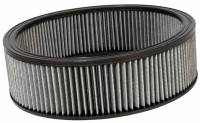 """Universal Round Air Filters - 14"""" Round Air Filters - K&N Filters - K&N Air Filter Element - 14"""" Diameter - 4"""" Tall - Reusable Cotton"""