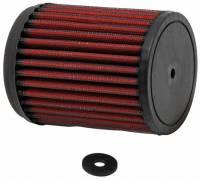 """K&N Air Filter Element - 3-9/16"""" Diameter - 4-1/4"""" Tall - Reusable Cotton"""