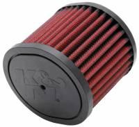 """K&N Air Filter Element - 3-3/4"""" Diameter - 4-3/8"""" Tall - Reusable Cotton"""
