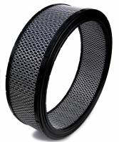 "Air & Fuel System - Spyder Filters - Spyder Air Filter Element - Dirt Racing/Off Road - 14"" Diameter - 4"" Tall - Reusable Cotton"