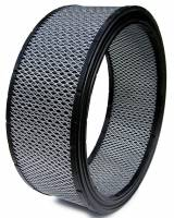 "Air & Fuel System - Spyder Filters - Spyder Air Filter Element - Dirt Racing/Off Road - 14"" Diameter - 5"" Tall - Reusable Cotton"