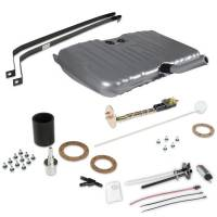 """Fuel Cells, Tanks and Components - Fuel Tanks - Holley Performance Products - Holley Sniper EFI Fuel Tank - 255 lph Pump - 1/4"""" NPT Outlet Port - 1/4"""" NPT Return Port - Sending Unit - Steel - Silver Powder Coat - GM A-Body 1970-72"""