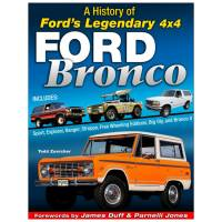 S-A Books - S-A Books History Of The Ford Bronco - 192 Page - Hardcover