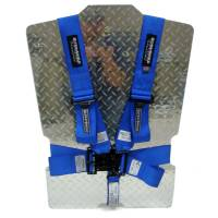 Safety Equipment - Ultra Shield Race Products - Ultra Shield Latch & Link 5 Point Harness - Pull Down Adjust - Bolt-On/Wrap Around - Individual Harness - Blue