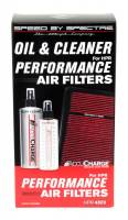 Spectre Performance - Spectre Accucharge Air Filter Service Kit - 8.00 oz. Pump Bottle Cleaner - 12.00 oz. Pump Bottle Oil - Spectre HPR Filters