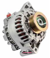 Tuff-Stuff Performance - Tuff-Stuff Alternator - 110 amp - 12V - OEM 1-Wire - 6 Rib Serpentine Pulley - Aluminum - Natural - 3.8 L - Ford Mustang 2001-04