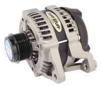 Tuff-Stuff Performance - Tuff-Stuff Alternator - 250 amp - 12V - OEM/1-Wire - Internal Regulator - 6 Rib Serpentine Pulley - Natural - Ford Mustang 2011-17