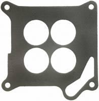Air & Fuel System - Fel-Pro Performance Gaskets - Fel-Pro Carburetor Base Plate Gasket - 4-Barrel - 4 Hole - Composite - Motorcraft 4100 Flange