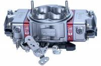 Drag Racing Carburetors - 850 CFM Drag Carburetors - FST Carburetors - FST Billet X-treme Carburetor - 4-Barrel - 850 CFM - Square Bore - Mechanical Secondary - Dual Inlet - Titanium Anodize
