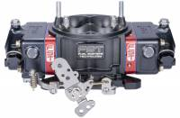 Drag Racing Carburetors - 850 CFM Drag Carburetors - FST Carburetors - FST Billet X-treme Carburetor - 4-Barrel - 850 CFM - Square Bore - Mechanical Secondary - Dual Inlet - Black Anodize