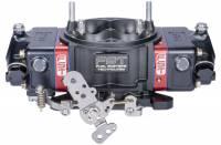 FST Billet X-treme Carburetor - 4-Barrel - 850 CFM - Square Bore - Mechanical Secondary - Dual Inlet - Black Anodize