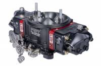 Drag Racing Carburetors - 850 CFM Drag Carburetors - FST Carburetors - FST Billet X-treme Carburetor - 4-Barrel - 850 CFM - Square Bore - Mechanical Secondary - 3-Port Viper Fuel Bowls - Dual Inlet - Black Anodize