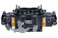 Air & Fuel System - FST Carburetors - FST Billet Excess Pro Carburetor - 1250 CFM - Square Bore - Mechanical Secondary - Dual Inlet - 3 Circuit Metering Block - Black Anodize