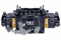 Air & Fuel System - FST Carburetors - FST Billet Excess Pro Carburetor - 1250 CFM - Square Bore - Mechanical Secondary - Dual Inlet - 4 Circuit Metering Block - Black Anodize