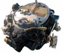 Jet Performance Products - Jet Performance Marine Carburetor - Quadrajet - 4-Barrel - 750 CFM - Spread Bore - Electric Choke - Air Valve Secondary - Single Inlet - Black