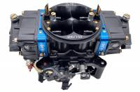 Willy's Carburetors - Willy's Equalizer Carburetor - 4-Barrel - 750 CFM - Square Bore - No Choke - Mechanical Secondary - Dual Inlet - Black Powder Coat - Alcohol