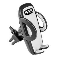 Mobile Electronics - Husky Liners - Husky Liners Cell Phone Holder - Vent Mount - Swivel - Adjustable - Black - Plastic - Universal