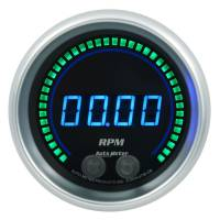 "Digital Gauges - Digital Tachometers - Auto Meter - Auto Meter Cobalt Elite Tachometer - Digital - Electric - 0-16000 RPM - 3-3/8"" - Black Face"