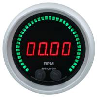 "Digital Gauges - Digital Tachometers - Auto Meter - Auto Meter Sport-Comp Elite Tachometer - Digital - Electric - 0-16000 RPM - 3-3/8"" - Black Face"